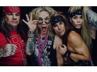 Steel Panther, Bowling for Soup and Buckcherry tickets x4 London o2 15/10/2016