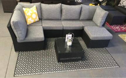 OUTDOOR premium quality low price modular multi way lounge set Hendon Charles Sturt Area Preview