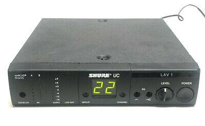 Shure UC UC4-UA Marcad Diversity Wireless Microphone Receiver 782-806 -