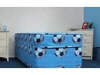 Children's single divan bed