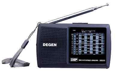 DEGEN MODEL–DE321 DE-321 DSP FM-Stereo / MW / SW 1~8 Multi