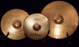 Zildjian ZBT Plus 14/16/20 Medium Cymbal set with Cymbal Bag.