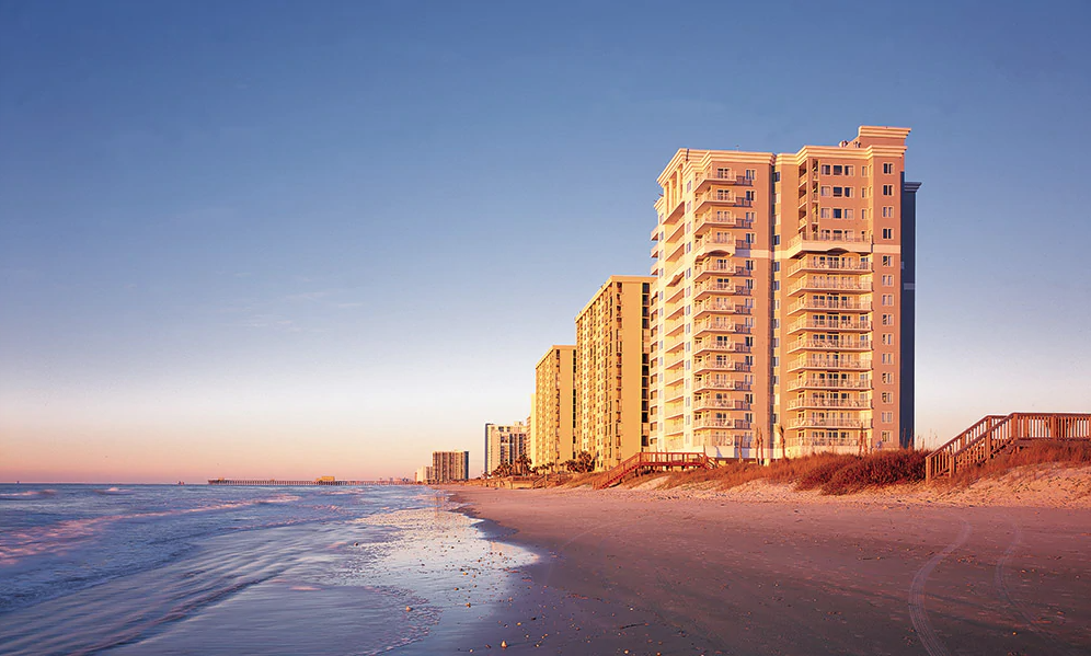 CLUB WYNDHAM SEAWATCH RESORT MYRTLE BEACH 2 BED DELUXE OCEANVIEW APRIL 17-21 - $499.00