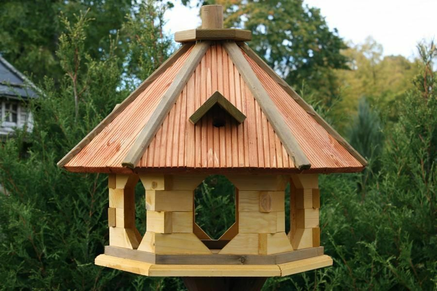 How to make a bird feeding station ebay for Different types of birdhouses