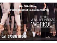 Ballet Fitness class