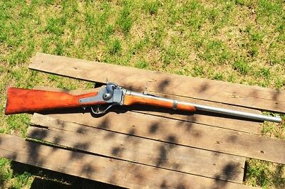 1859 Sharps Carbine Rifle - Civil War - Old West - Union Cavalry - Denix Replica