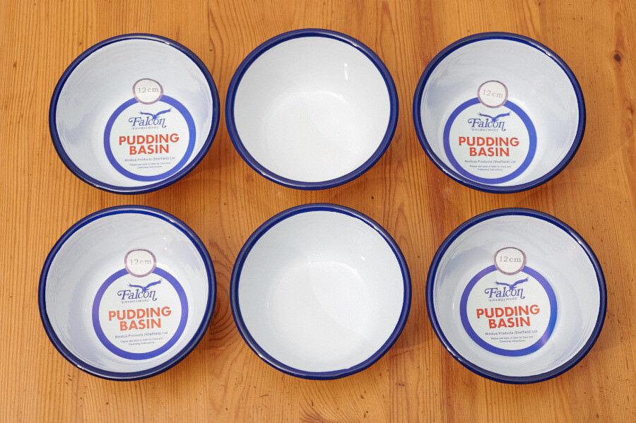 6 Falcon pudding basins