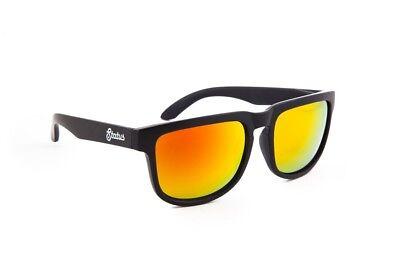 Status Shades Solid Schwarz / Geschmiedeter Gold der Collins Sonnenbrille