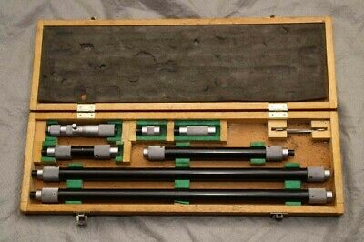 Mitutoyo 139-180 Tubular Inside Micrometer 4 To 52 Inch In Box With Tools