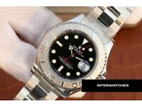 Rolex Yacht Master 116622 Stainless Steel Black Dial