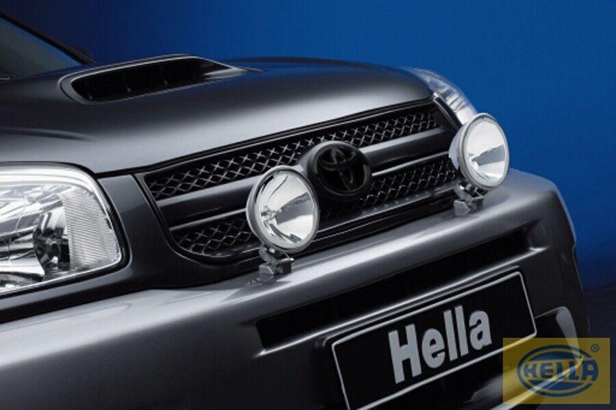 hella comet ff200 spotlight halogen lights x2 1f4. Black Bedroom Furniture Sets. Home Design Ideas
