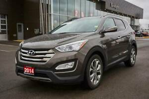 2014 Hyundai Santa FE LTD 2.0T Leather Htd Seats,Sunroof,Bltooth