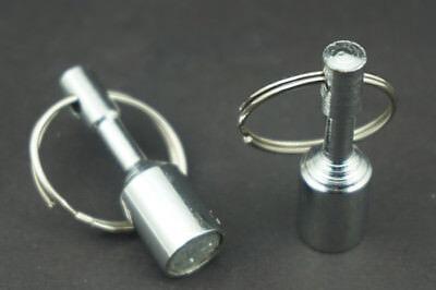 2x Magnet Key Hanger Key Holder Key Rack Wall Mounted Magnetic Jewelry Key Hooks