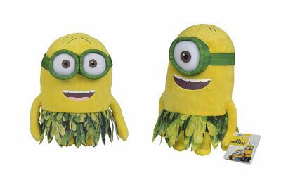 Minions Plüsch Figur 25cm Auswahl Dschungel Outfit Stofftier Spielzeug Kinder