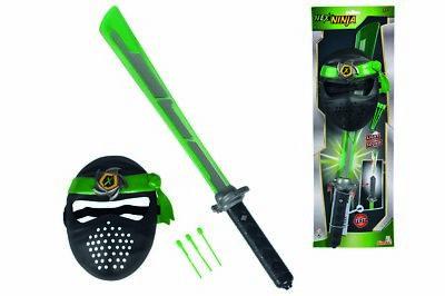 Simba Next Ninja Schwert mit Maske Fasching Spielzeug Kunststoffschwert Karneval ()