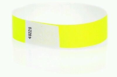 Tyvek Event Wristbands - 100  3/4