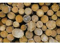 Logs for sale FREE DELIVERY apple & pear logs seasoned 1 tonne bags