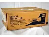 Denon DBP-1611UD Blu-Ray Player. Superb deck. Brand new in carton.