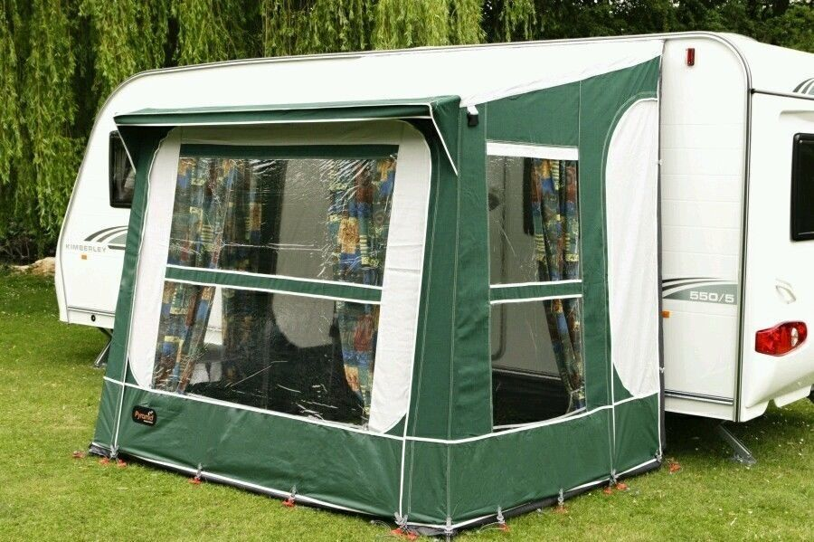 Pyramid Tuscany Porch Awning Green As New Condition
