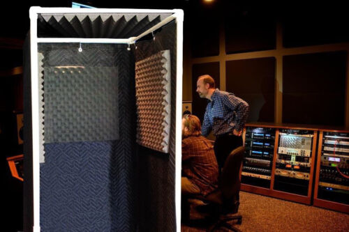 The Original Vocal Booth Reflection & Echo Eliminator - With Optional Top