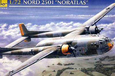 Heller North 2501 Noratlas German Military Luftwaffe France 1:72 Model Kit Kit
