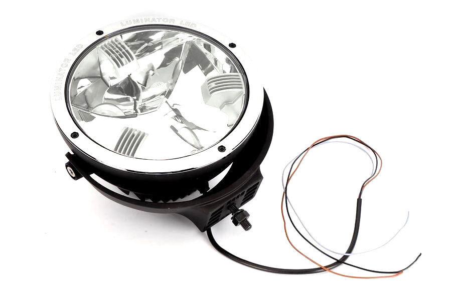 hella rallye luminator 4000 led auxiliary led spot lights. Black Bedroom Furniture Sets. Home Design Ideas