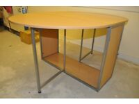Small drop leaf table -- suitable for dining/ computer/ worktop