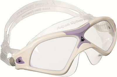 Aqua Sphere Seal XP 2 Lady Swim Mask with Clear Lens -
