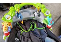 Baby pram toy by Fisher price