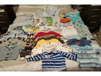 Job lot of 3-6 months boys clothes
