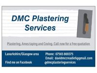 Experienced local plasterer/Ames taping/coving