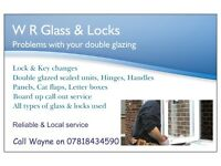 W R Glass & Locks, Specialising in repairs to upvc, windows, doors, Supply & fit of windows & doors