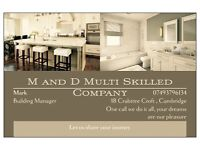 M & D Multiskilled Building Company