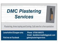Experienced local plasterer/Ames taping/coving free quotes