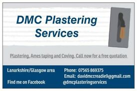 Dmc plastering/Ames taping/coving