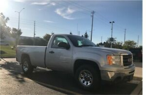 GMC SIERRA, 8 FOOT BOX,REGULAR CAB - CERTIFIED -