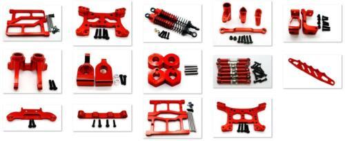 Metal Steering Hub Carrier/Shock Damper/Arm parts for HQ 1/16 731/732/733/734 Re