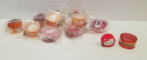 HELLO KITTY ERASERS  BY SANRIO 2003 LOT OF 10