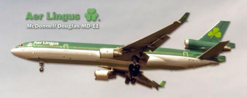 Aer Lingus McDonnell Douglas MD-11 Handmade Photo Magnet (PMT1696)