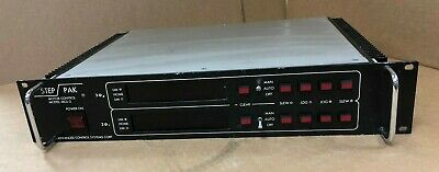 Used Advanced Control Systems Step-pak Dual-axis Motor Control Model Mcu-2