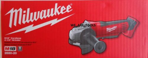 "NEW IN BOX Milwaukee M18 2680-20 Cordless Cut Off Grinder 4 1/2"" Paddle 18 Volt"