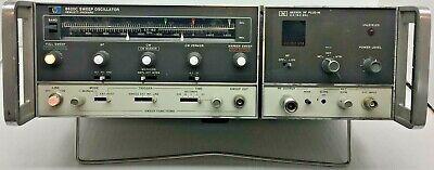 Agilent Hp  Hp 8620c Sweep Oscillator W 86290a 2 - 18.0 Ghz