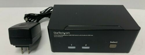 StarTech | SV231DPDDUA |  2 Port KVM Switch with Dual DisplayPort- 4k 60HZ