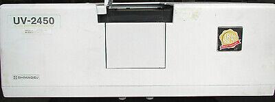 Shimadzu Uv-2450 Uv-vis Spectrophotometer For Parts Repair