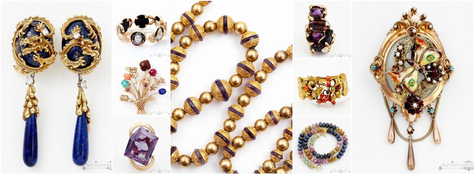 Aumia Gold Silver Jewelry