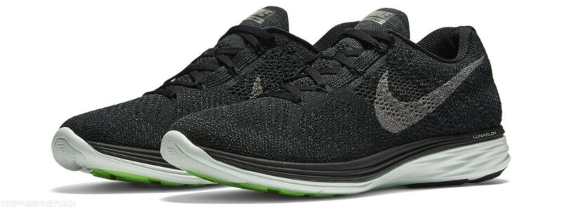 quality design 5823a 653b0 Mens Nike Flyknit Lunar 3 LB 826837 003 Black Metallic Size 11 VERY RARE!