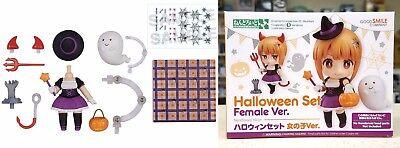 Nendoroid More Halloween Set Female Version Good Smile Company Licensed New