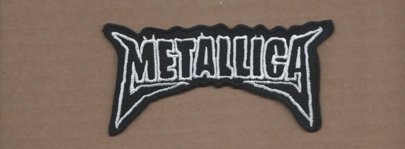 NEW 2 3/8 X 4 3/4 INCH METALLICA IRON ON PATCH FREE SHIPPING
