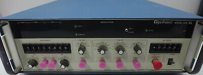 Gigatronics 600 Signal Generator 0.01-8.0 Ghz Tested And Working