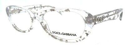 Dolce & Gabbana DD1248 2576 Women's Eyeglasses Frames 51-17-135 Crystal (Dolce Gabbana Frames)